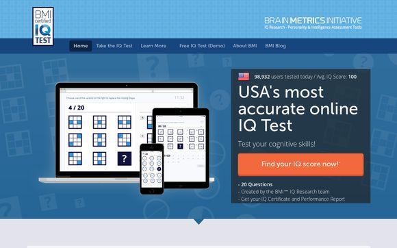 BMI™ Certified IQ Test 2018