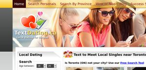 local text dating reviews