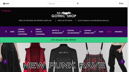 The Gothic Shop