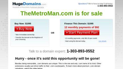 TheMetroMan.com