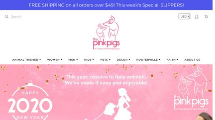 The Pink Pigs, Fine Jewels and Gifts for People who Love Animals!