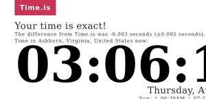 Time.is