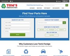 Tom's Foreign Auto Parts