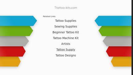 Ttattoo-kits.com