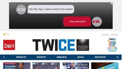 TWICE - Consumer Electronic News