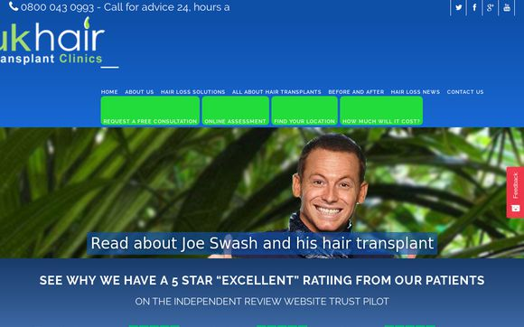 UK Hair Transplant Clinics