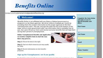 Benefits Online