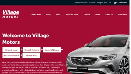 VillageMotors.com.au