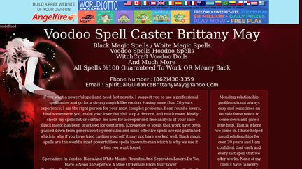 Voodoo Spell Caster Brittany May