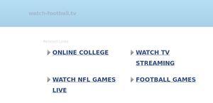 Watch-football.tv