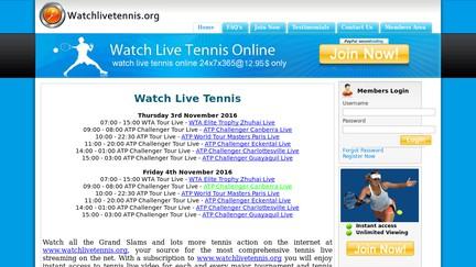 WatchLiveTennis.org