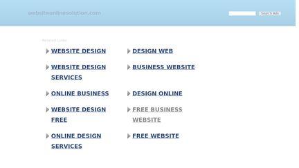 WebsiteOnlineSolution