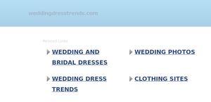 WeddingDressTrends