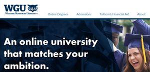 Western Governors University Reviews 3 Reviews Of Wgu Edu Sitejabber