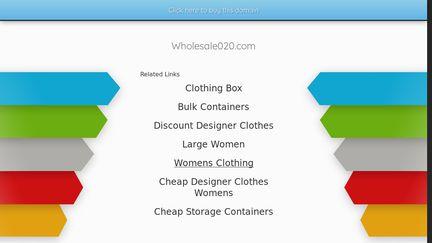 Wholesale020