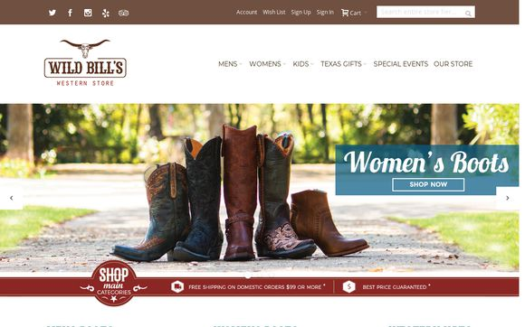 Wildbillswestern.com