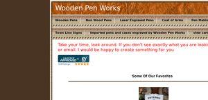 Wooden Pen Works