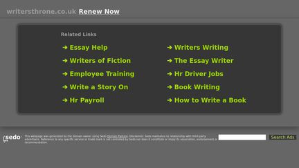 WritersThrone.co.uk