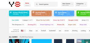 Y8 popular games